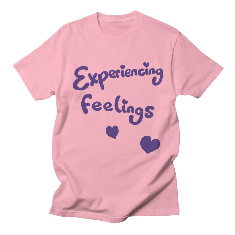 EXPERIENCING FEELINGS Men's Regular T-Shirt by Philippa Rice's Shop