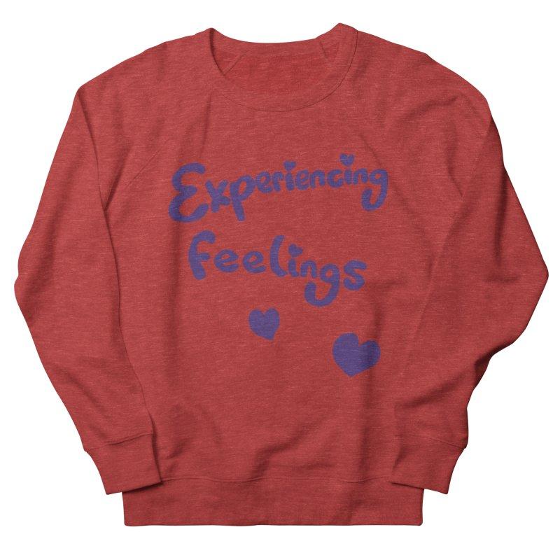 EXPERIENCING FEELINGS Men's Sweatshirt by Philippa Rice's Shop