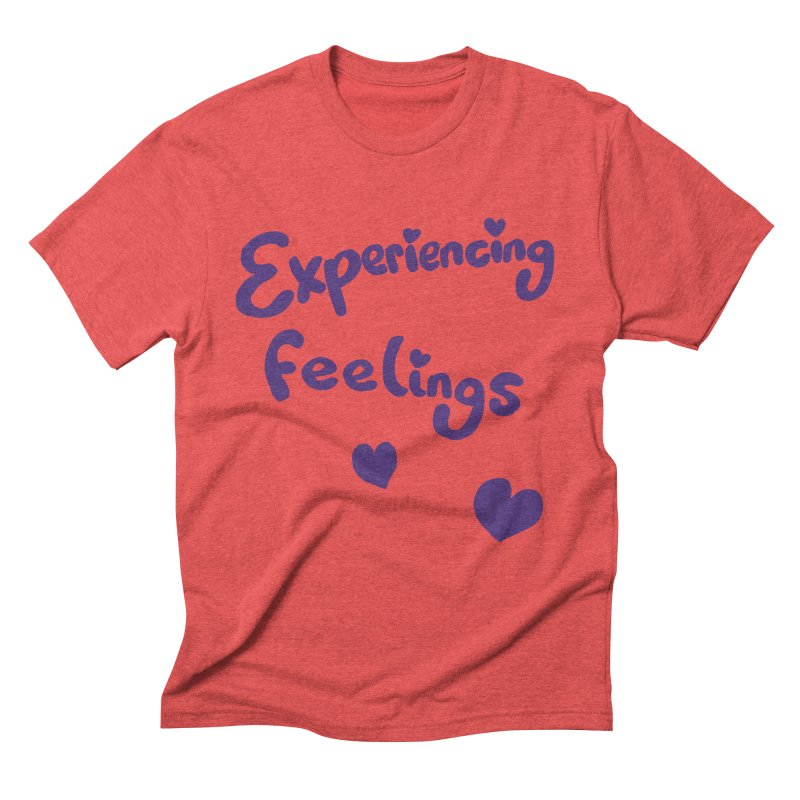 EXPERIENCING FEELINGS Men's Triblend T-Shirt by Philippa Rice's Shop