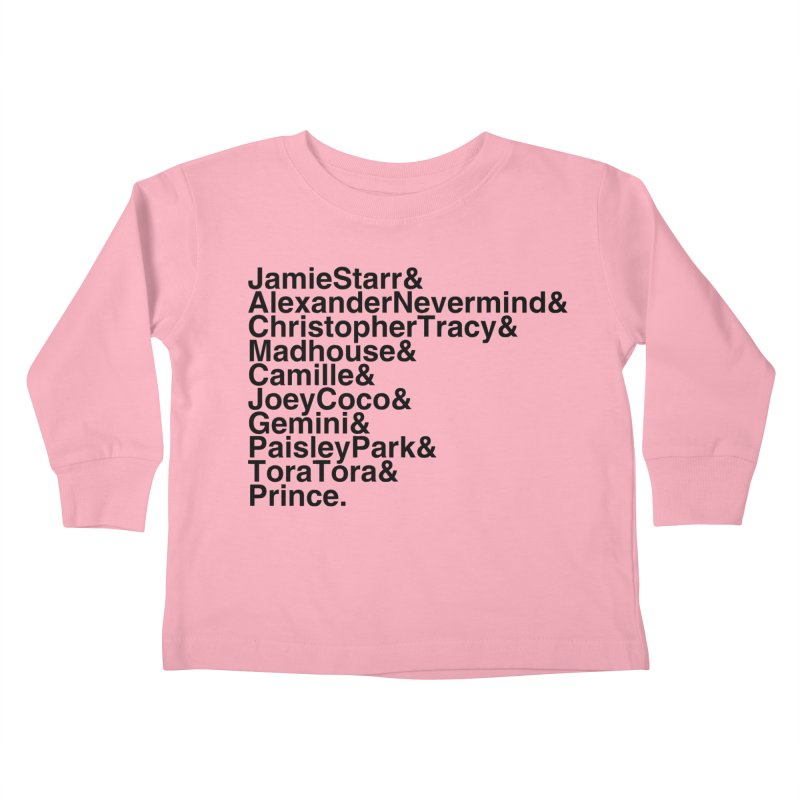 My Name Is... (black text) Kids Toddler Longsleeve T-Shirt by phillipolive's Artist Shop