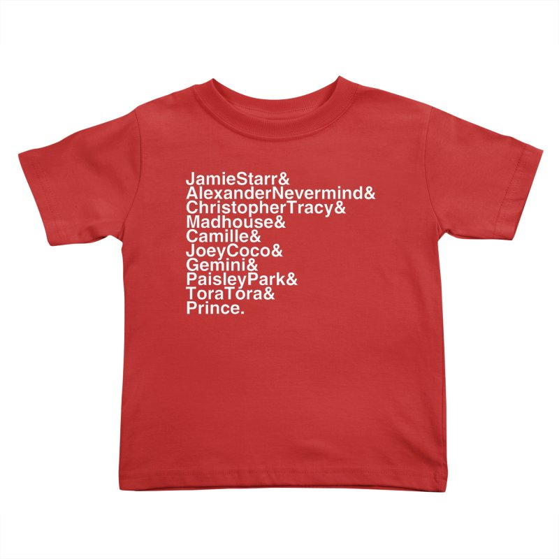 My Name Is... (white text) Kids Toddler T-Shirt by phillipolive's Artist Shop