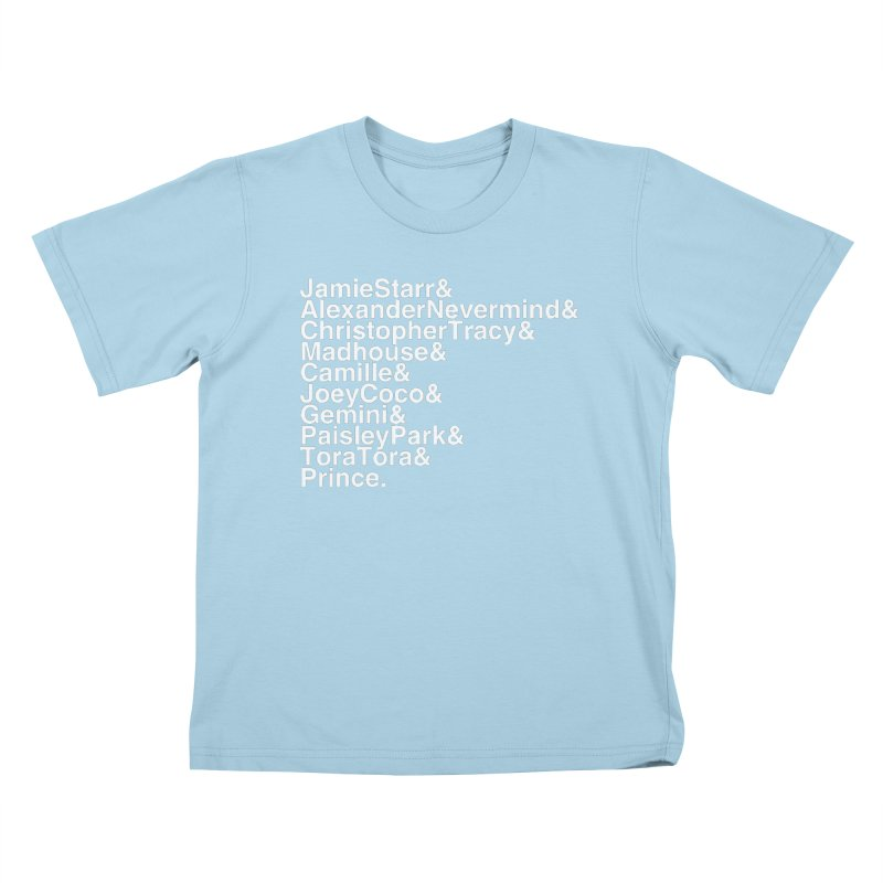 My Name Is... (white text) Kids T-Shirt by phillipolive's Artist Shop