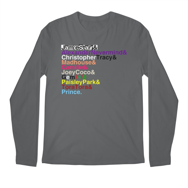 My Name Is... (multicolor, & last) Men's Longsleeve T-Shirt by phillipolive's Artist Shop