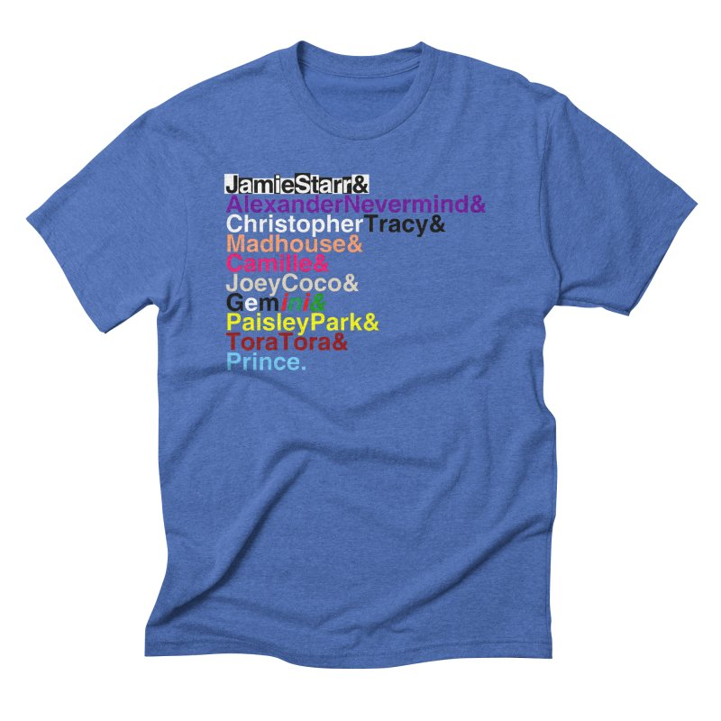My Name Is... (multicolor, & last) Men's Triblend T-Shirt by phillipolive's Artist Shop