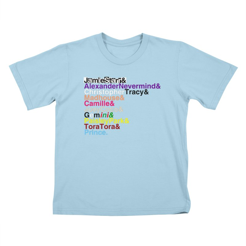 My Name Is... (multicolor, & last) Kids T-Shirt by phillipolive's Artist Shop