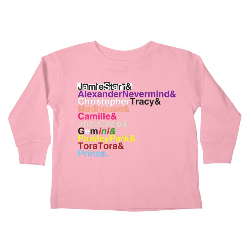 My Name Is... (multicolor, & last) Kids Toddler Longsleeve T-Shirt by phillipolive's Artist Shop