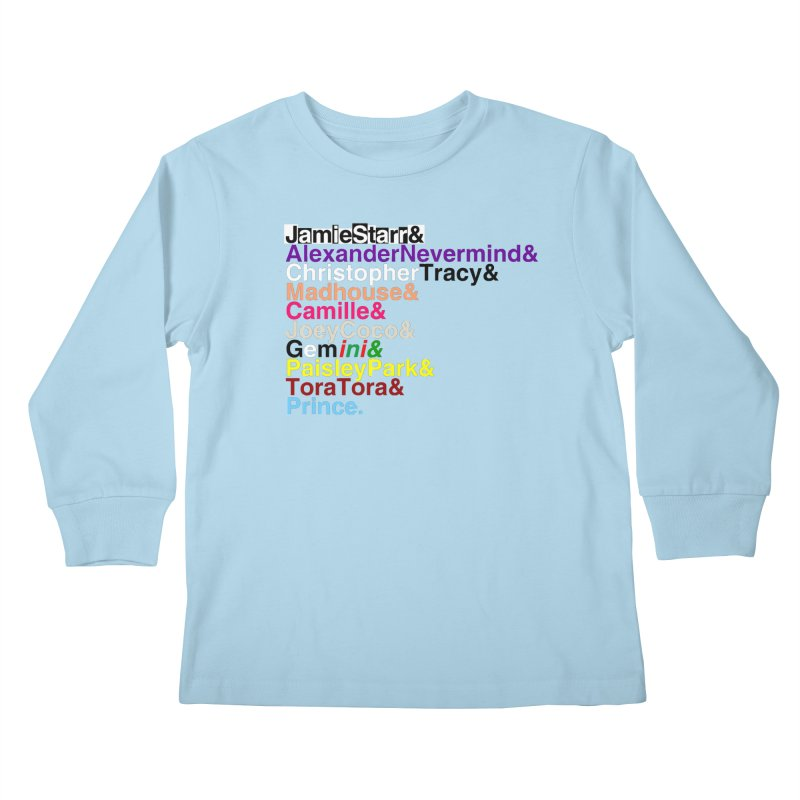 My Name Is... (multicolor, & last) Kids Longsleeve T-Shirt by phillipolive's Artist Shop