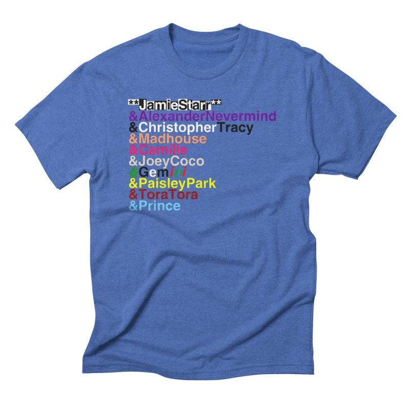 My Name Is... (multicolor, & first) Men's Triblend T-Shirt by phillipolive's Artist Shop