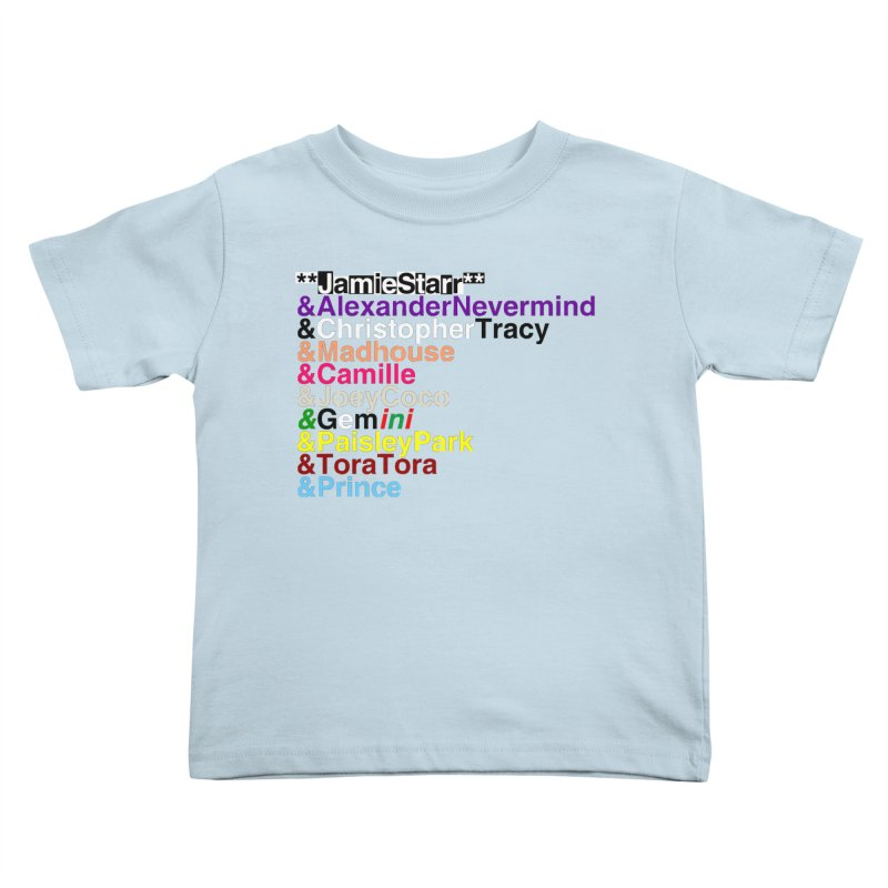 My Name Is... (multicolor, & first) Kids Toddler T-Shirt by phillipolive's Artist Shop