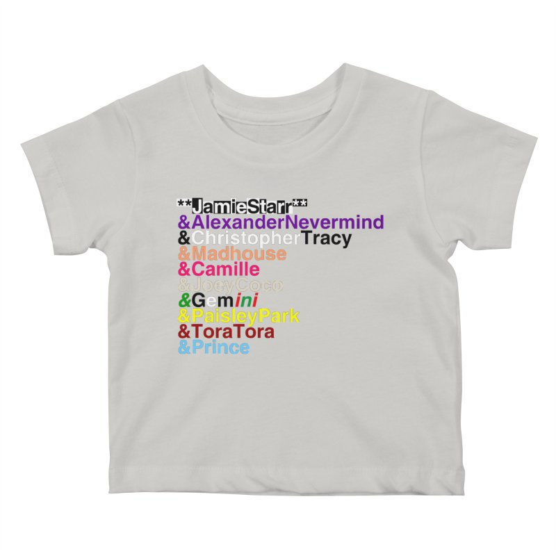 My Name Is... (multicolor, & first) Kids Baby T-Shirt by phillipolive's Artist Shop