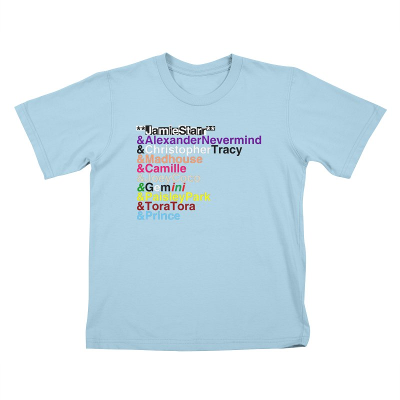 My Name Is... (multicolor, & first) Kids T-shirt by phillipolive's Artist Shop