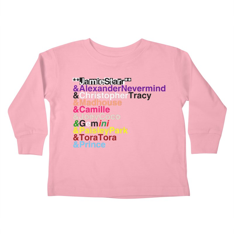 My Name Is... (multicolor, & first) Kids Toddler Longsleeve T-Shirt by phillipolive's Artist Shop
