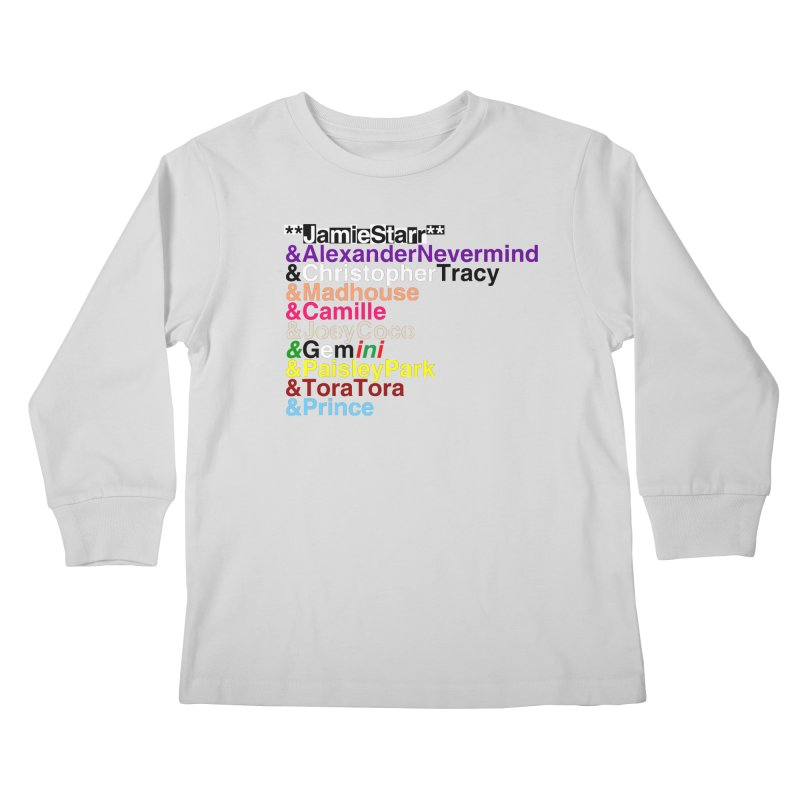 My Name Is... (multicolor, & first) Kids Longsleeve T-Shirt by phillipolive's Artist Shop