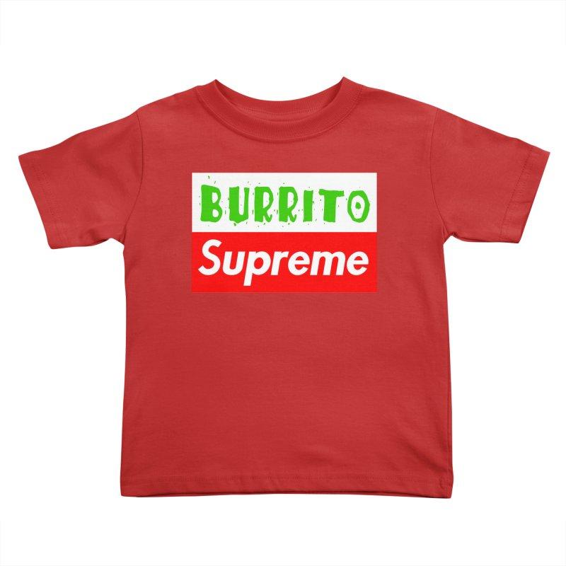 Taco Bellissima Kids Toddler T-Shirt by phillipolive's Artist Shop