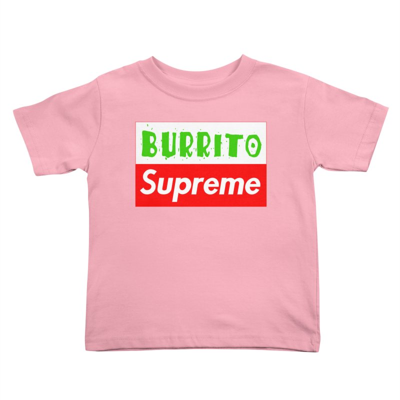 Taco Bellissima Kids Toddler T-Shirt by phillipolive's Artist Shop