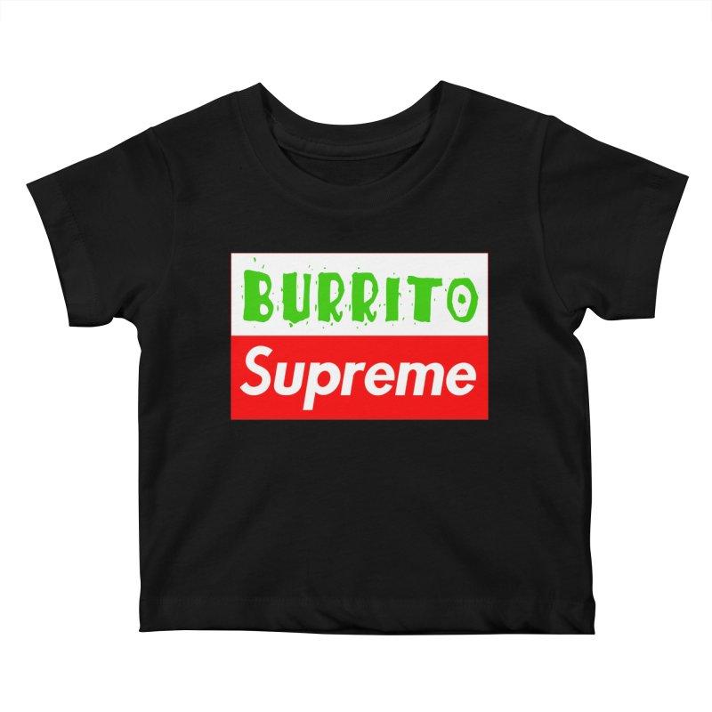 Taco Bellissima Kids Baby T-Shirt by phillipolive's Artist Shop