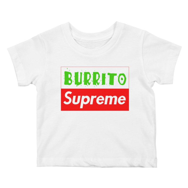 Taco Bellissima Kids Baby T-Shirt by phillipolive's Artist Shop