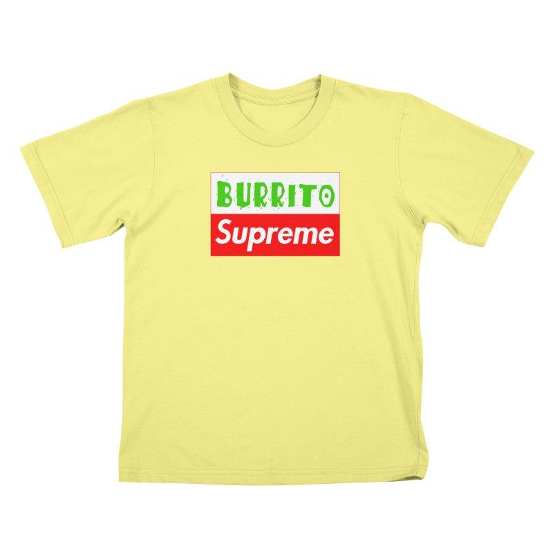 Taco Bellissima Kids T-shirt by phillipolive's Artist Shop