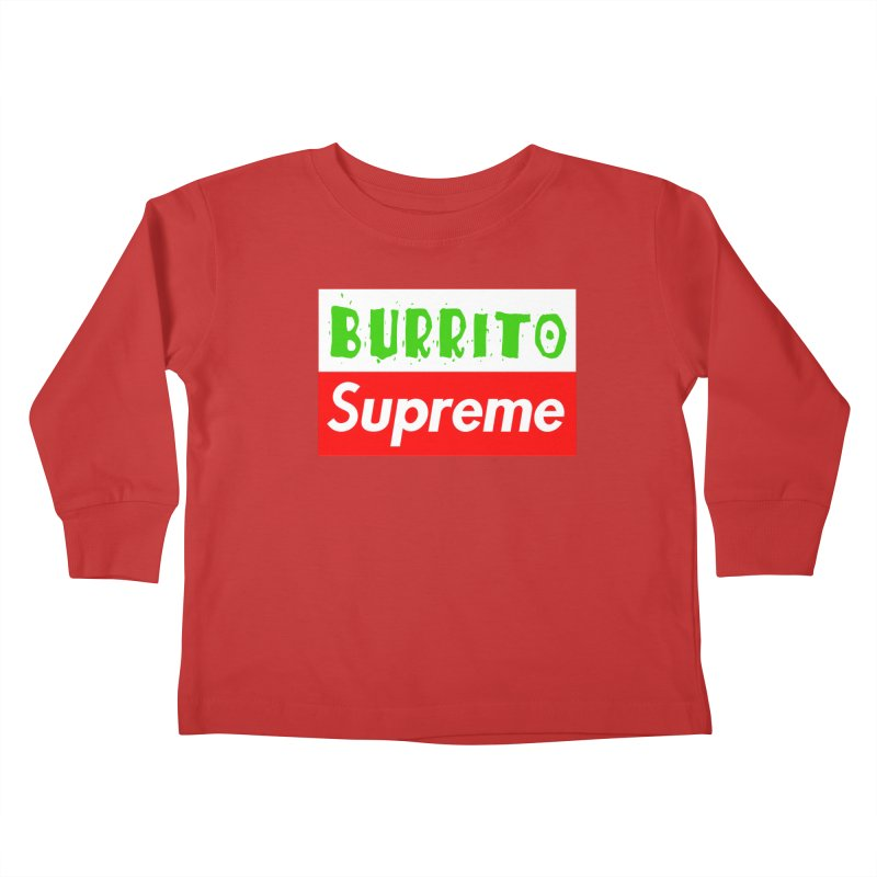 Taco Bellissima Kids Toddler Longsleeve T-Shirt by phillipolive's Artist Shop