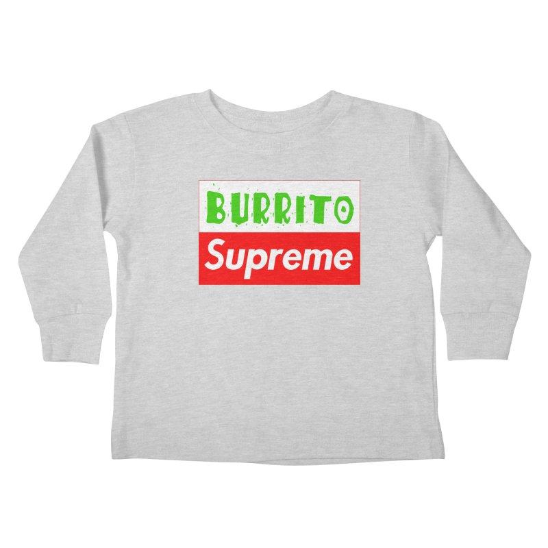 Taco Bellissima Kids Toddler Longsleeve T-Shirt by phillipolive's Artist Shop