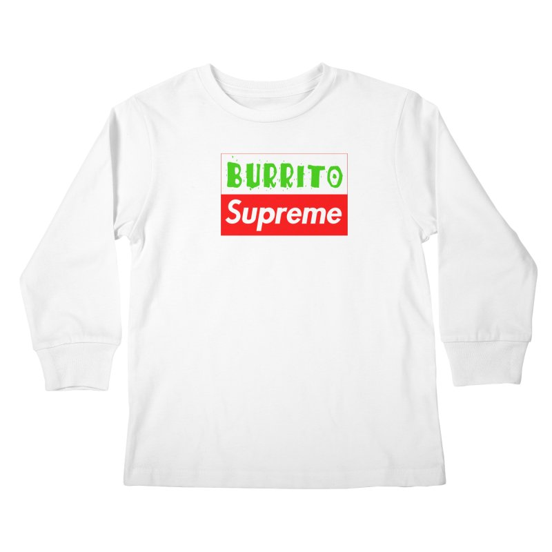 Taco Bellissima Kids Longsleeve T-Shirt by phillipolive's Artist Shop