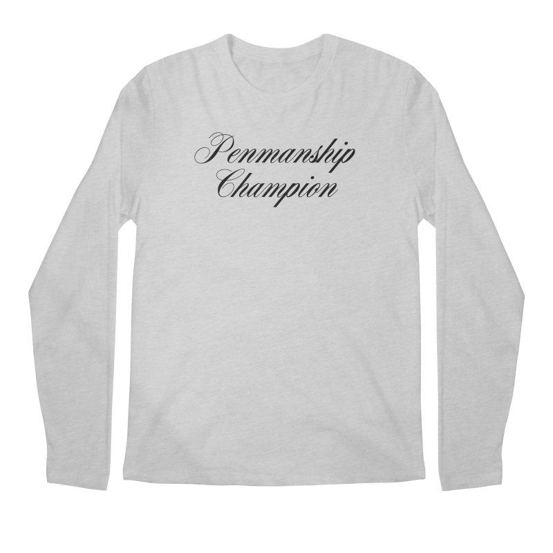 Useless Skills (black text) Men's Longsleeve T-Shirt by phillipolive's Artist Shop