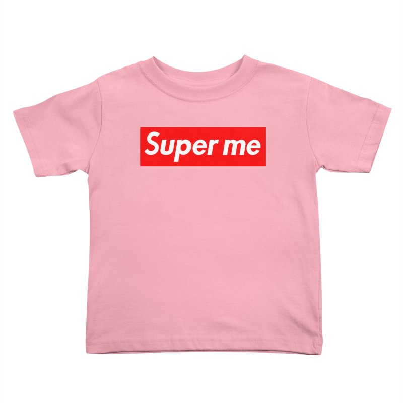 Super Me Kids Toddler T-Shirt by phillipolive's Artist Shop