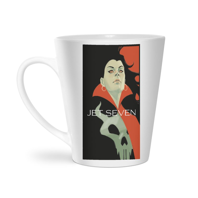 Jet Seven Galaxia Accessories Latte Mug by Phil Noto's Shop