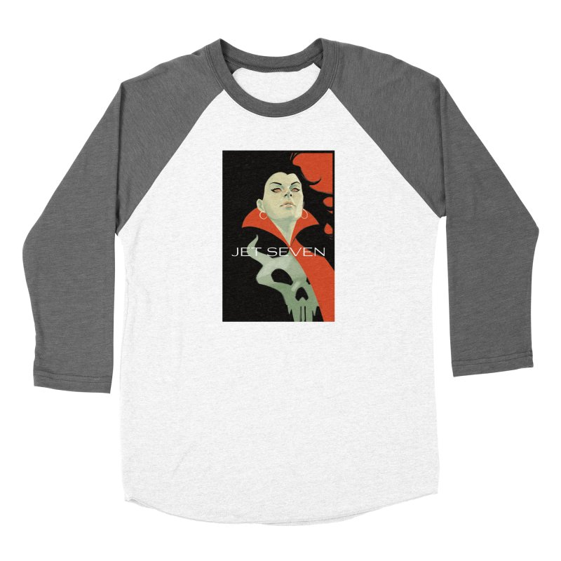 Jet Seven Galaxia Men's Baseball Triblend Longsleeve T-Shirt by Phil Noto's Shop