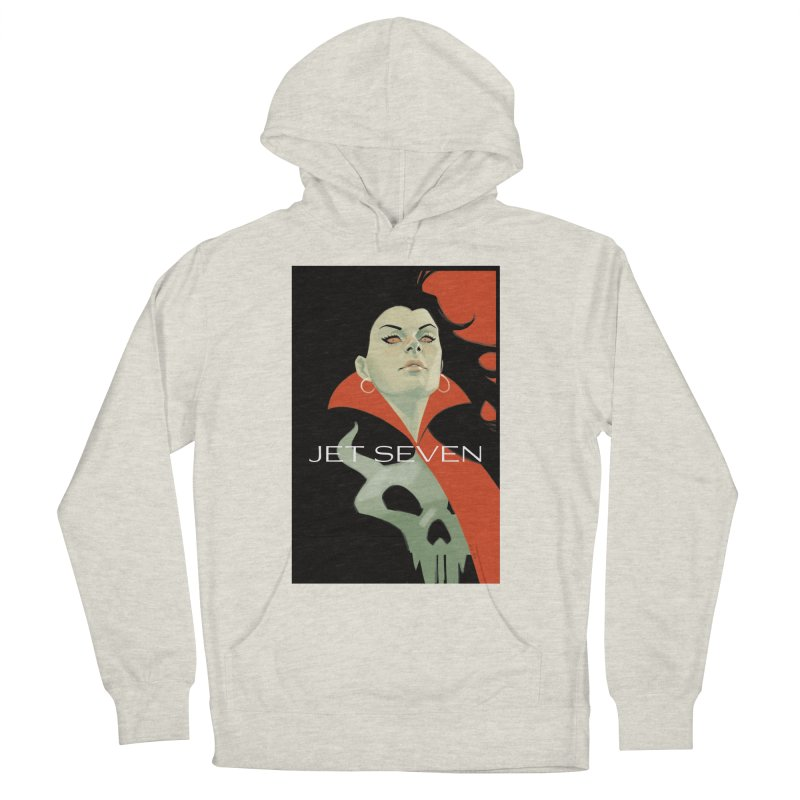 Jet Seven Galaxia Women's French Terry Pullover Hoody by Phil Noto's Shop