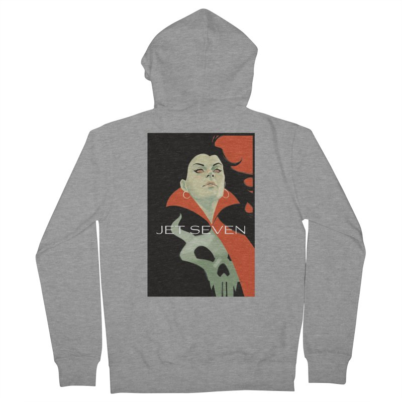 Jet Seven Galaxia Women's French Terry Zip-Up Hoody by Phil Noto's Shop