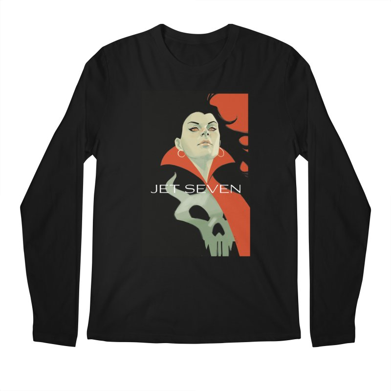Jet Seven Galaxia Men's Regular Longsleeve T-Shirt by Phil Noto's Shop