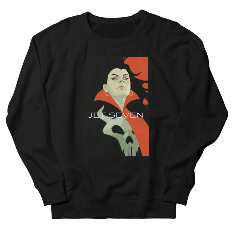 Jet Seven Galaxia Women's French Terry Sweatshirt by Phil Noto's Shop
