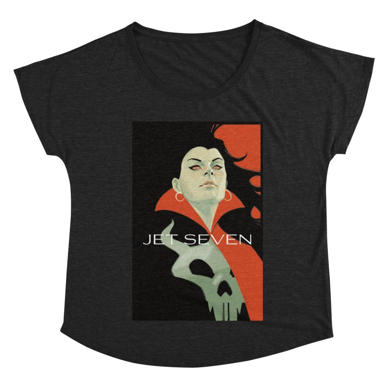 Jet Seven Galaxia Women's Dolman Scoop Neck by Phil Noto's Shop