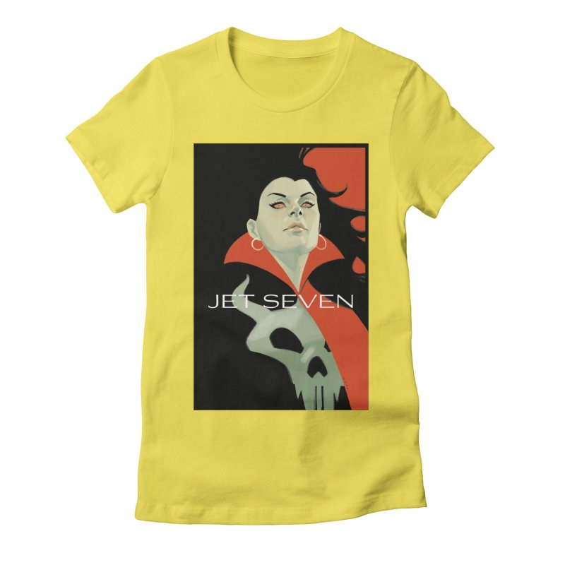 Jet Seven Galaxia Women's Fitted T-Shirt by Phil Noto's Shop