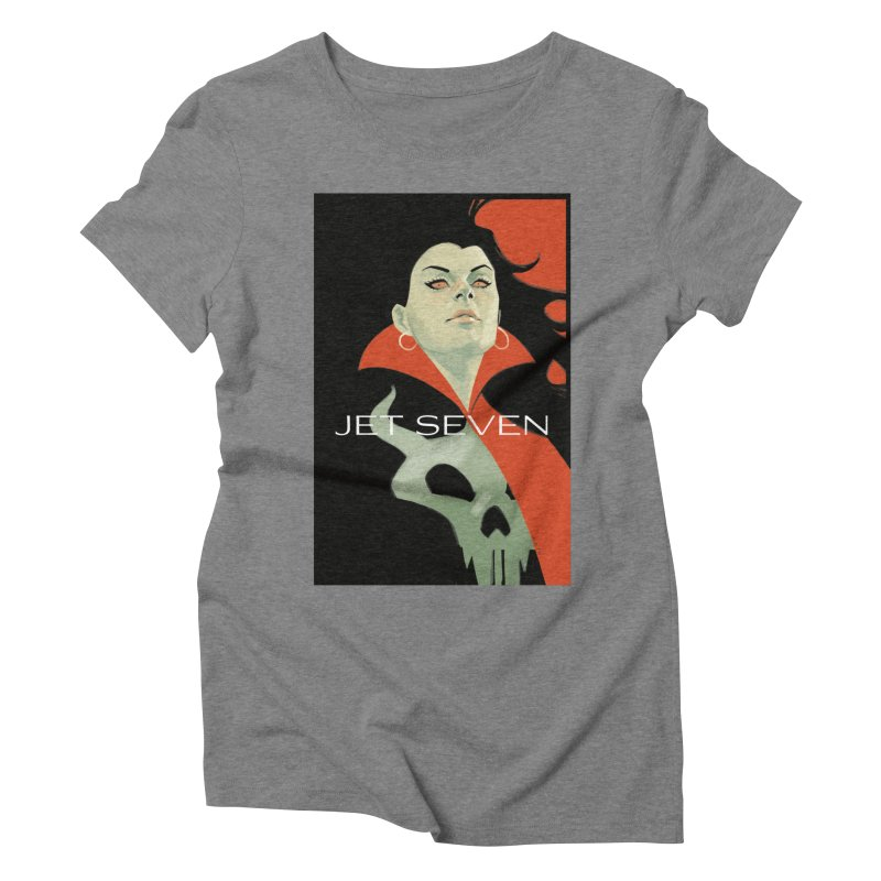 Jet Seven Galaxia Women's Triblend T-Shirt by Phil Noto's Shop