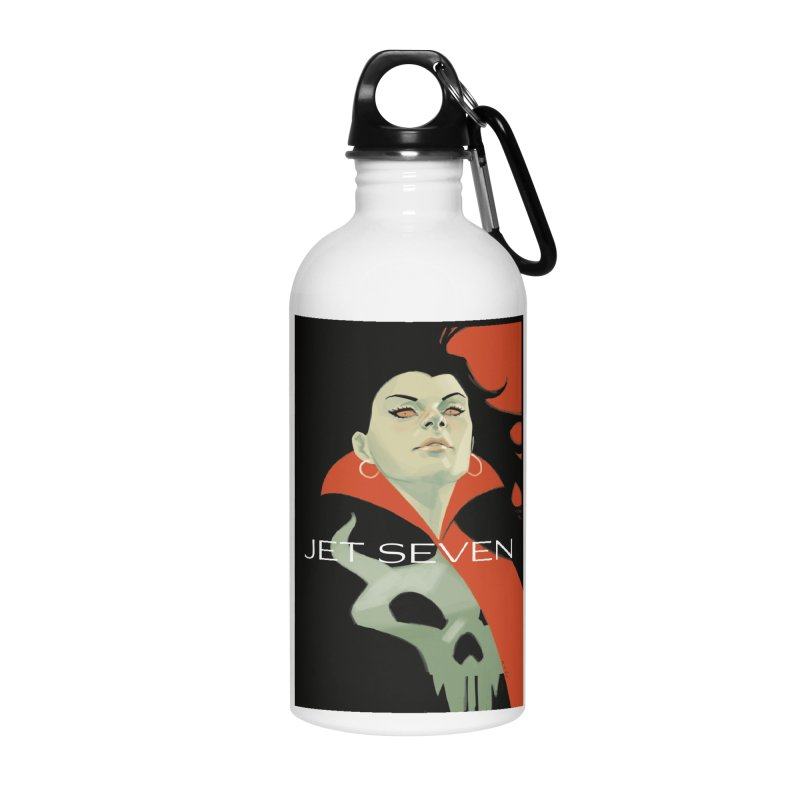 Jet Seven Galaxia Accessories Water Bottle by Phil Noto's Shop