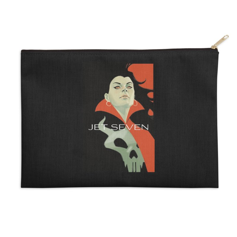 Jet Seven Galaxia Accessories Zip Pouch by Phil Noto's Shop