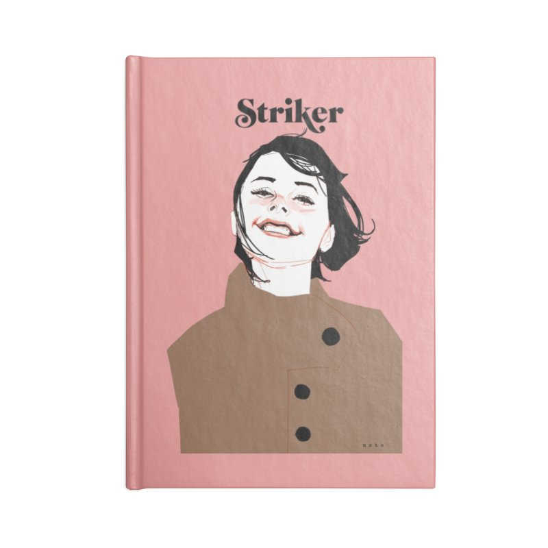 Striker Accessories Lined Journal Notebook by Phil Noto's Shop
