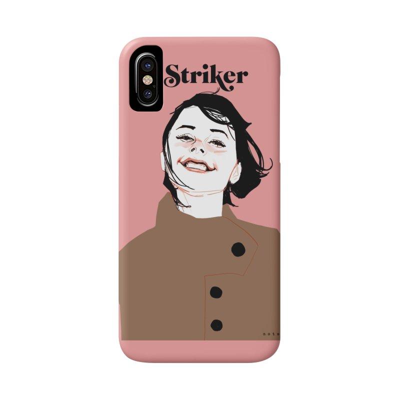 Striker Accessories Phone Case by Phil Noto's Shop