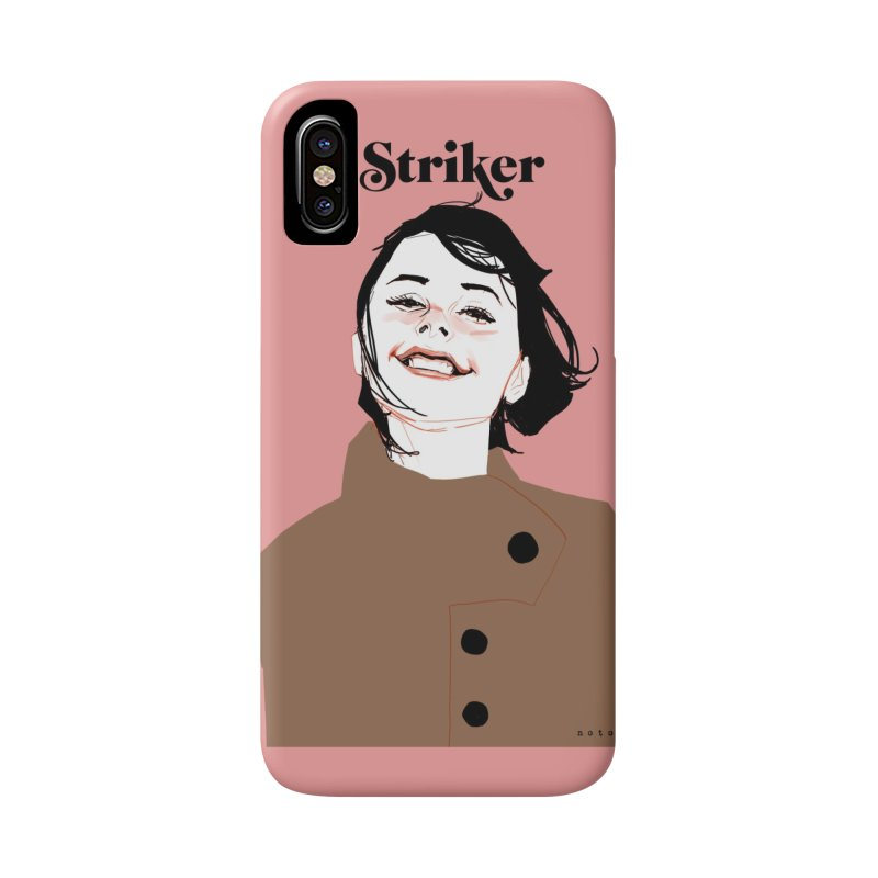 Striker Accessories Phone Case by Phil Noto's Shop