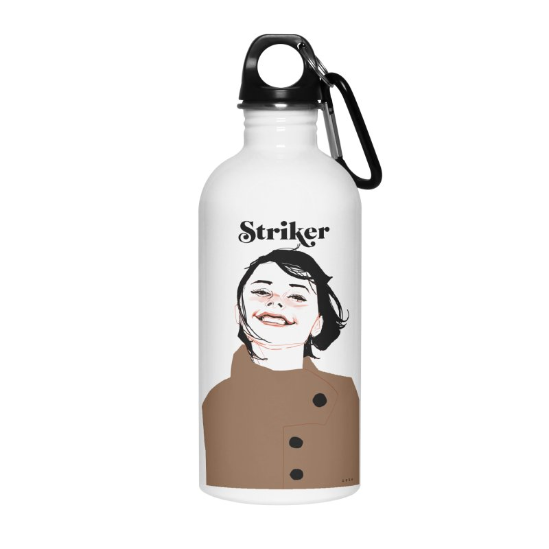 Striker Accessories Water Bottle by Phil Noto's Shop