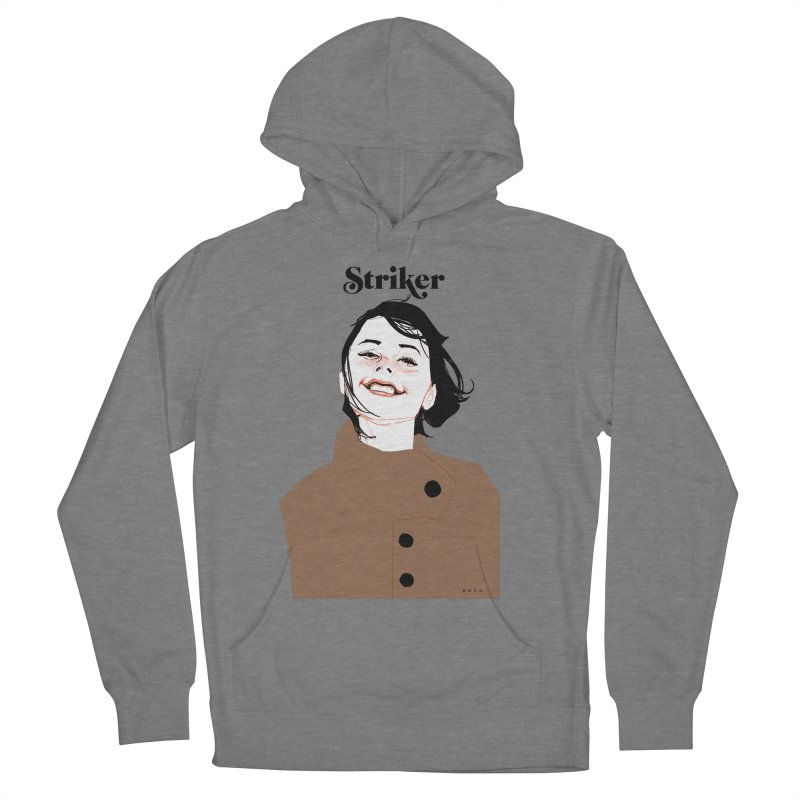 Striker Women's French Terry Pullover Hoody by Phil Noto's Shop