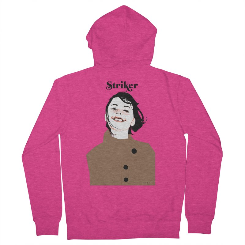 Striker Women's French Terry Zip-Up Hoody by Phil Noto's Shop