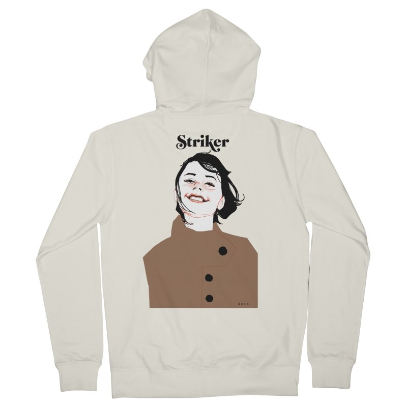 Striker Men's French Terry Zip-Up Hoody by Phil Noto's Shop
