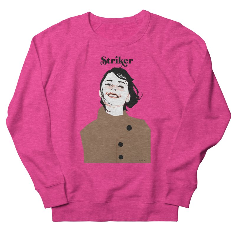 Striker Women's French Terry Sweatshirt by Phil Noto's Shop