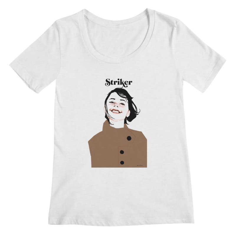 Striker Women's Scoopneck by Phil Noto's Shop