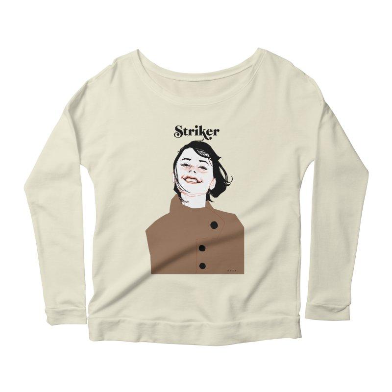 Striker Women's Scoop Neck Longsleeve T-Shirt by Phil Noto's Shop