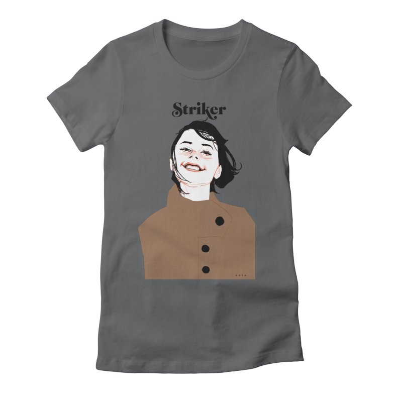 Striker Women's Fitted T-Shirt by Phil Noto's Shop