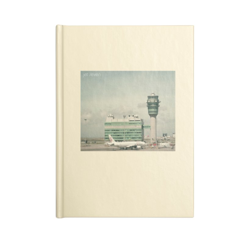Jet Seven Airport Accessories Lined Journal Notebook by Phil Noto's Shop